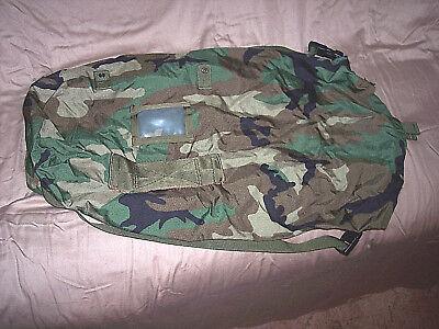 Genuine Military Camo Chemical Bag Nbc Stuff Sack Compression Duffle Bag 14