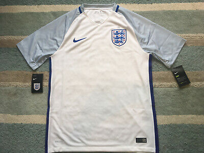 ENGLAND NIKE HOME SHIRT 2016/17 SIZE MEDIUM BRAND NEW