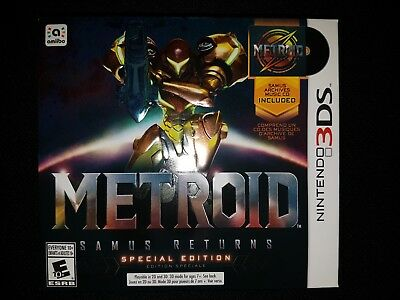 3Ds Metroid  Samus Returns Special Edition  Brand New Factory Sealed Nintendo