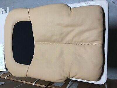 New OEM Cream Leather HT-125 Massage Chair Back Pad Cushion
