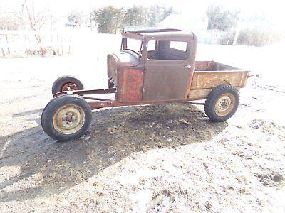 1930 Ford model A pickup roller project hotrod ratrod body