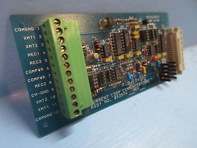 Measurex 05357402 Rev A Current Loop Communications Module Plc Revision A