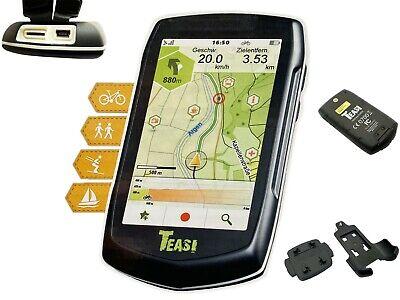 "Teasi GPS Navi 3,5"" Navigationsgerät Fahrrad Wandern Boot Navigation Classic One"