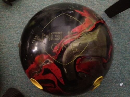Ebonite ANGULAR ONE Bowling Ball Used Drilled
