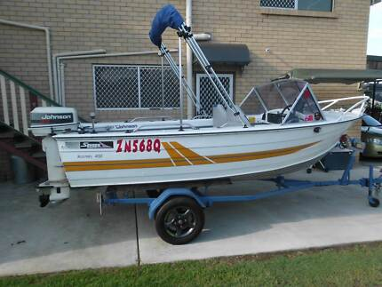 Savage Kestrel 4 metre alloy runabout  excellent condition