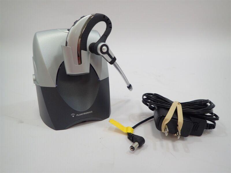 Plantronics CS70NC Wireless Headset w/ Base & A/C Adapter