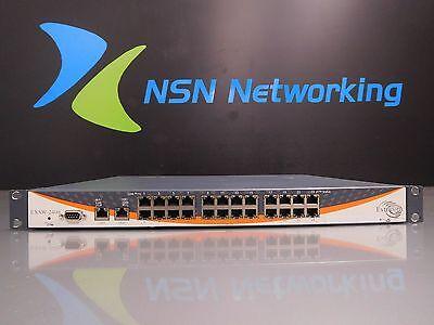 Extricom EXSW-2400 Wireless LAN WLAN 24-Port Switch w/ Rack Ears P/N EX02402402 Wireless Lan Switch
