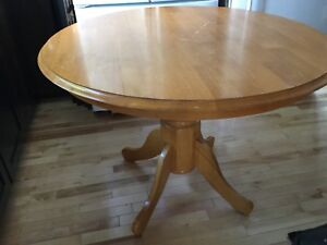 Pine dining table- 1 available