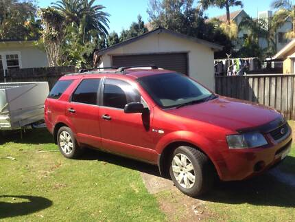 2004 Ford Territory Wagon Newport Pittwater Area Preview
