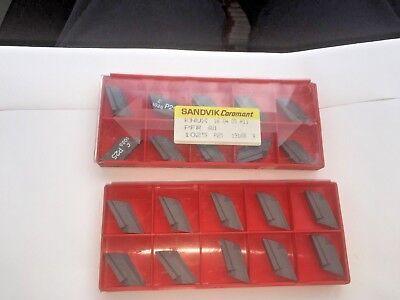 Sandvik Carbide Inserts Quantity 10 Knux 16 04 05 R11 Pfr 6u1 1025