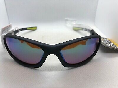 NEW BODY GLOVE POLARIZED Wrap Sunglasses Water Repellent Black (Body Glove Sunglasses)