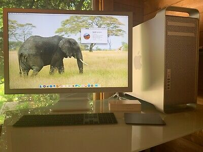 "Apple mac pro desktop with 30"" screen and RAID discs Excellent condition"