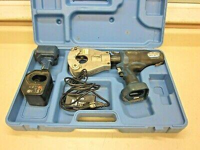 Huskie Tools Rec-b6750 6.2 Ton Flip-top Dieless Compression Crimper Crimp Tool