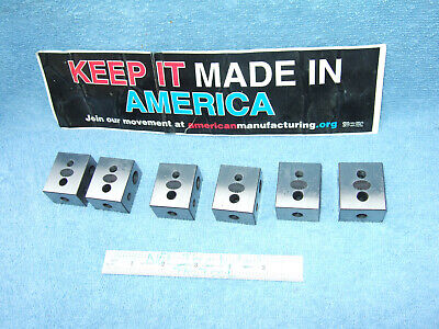 Blocks Parallels 6 78 X 1-14 X 1-12 Toolmaker Machinist Inspection Qa