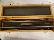 "12"" Master Precision Level .0002"" - new in wooden box"