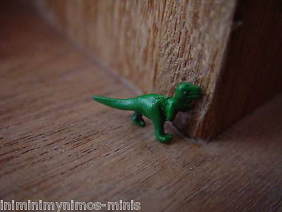 DOLL HOUSE SCALE 'PAINTED' METAL DINOSAUR TOY !!! BUY NOW & DON'T MISS OUT !!!