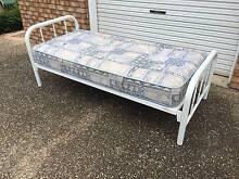 Single metal frame bed and mattress Bridgeman Downs Brisbane North East Preview