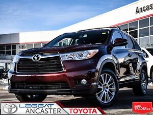 2016 Toyota Highlander XLE only 45023 kms!!