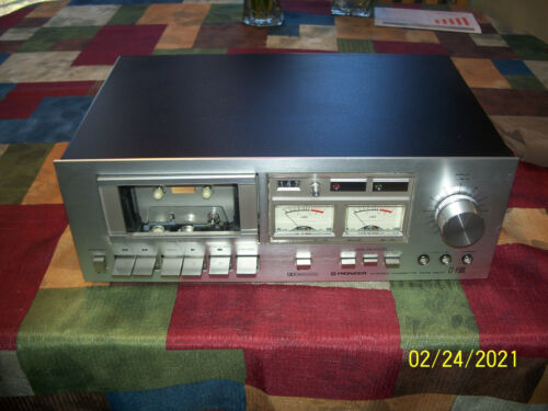 Vintage Pioneer CT-F500 CTF500 Dolby Stereo Cassette Recorder Player Tape Deck