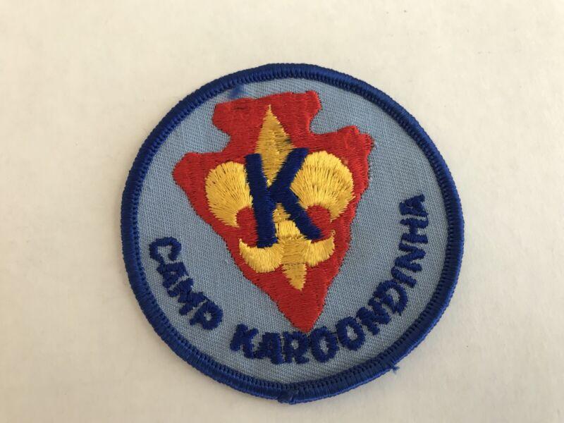 Boy Scout Camp Karoondinha Susquehanna Council Blue Patch