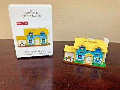 2011 Hallmark Ornament Play Family House  Fisher Price