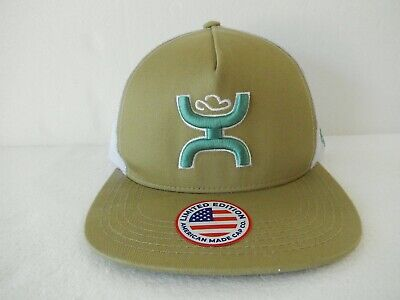 85e90a9eb5049 HOOey New 2018 Mesh Hat Army Green Cloth   White Mesh Snapback