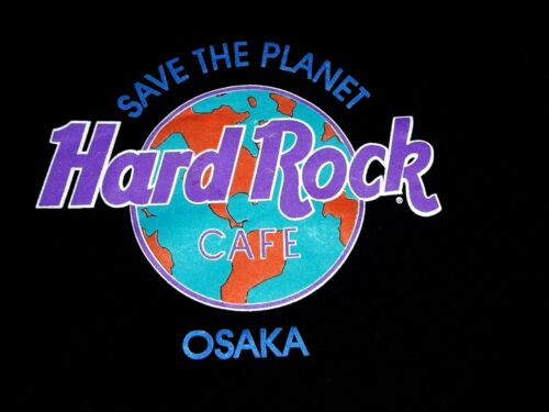 Hard Rock Café OSAKA Sweatshirt XL, Vintage