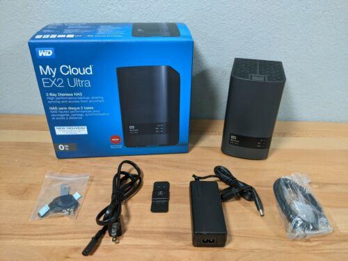 Western Digital My Cloud Expert Series EX2 Ultra NAS System 0TB Empty No Drives