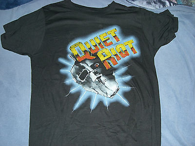 QUIET RIOT 1980's MASK LOGO TOUR T-SHIRT