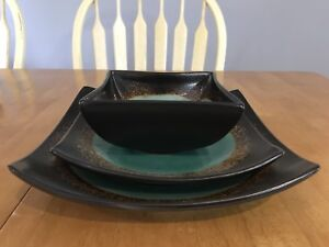Dinner plate, salad plate, bowl set