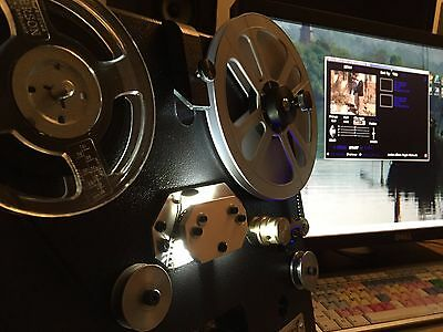 50 FT Regular 8mm, Super 8, 16mm movie film transfer to DVD or High Definition