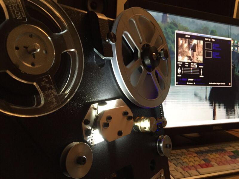 50 FT Regular 8mm, Super 8, 16mm movie film transfer to DVD or High Definition