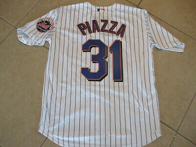 New!! Mike Piazza New York Mets White Home Stitched Baseball Jersey AdultLarge Ny Mets Home Baseball
