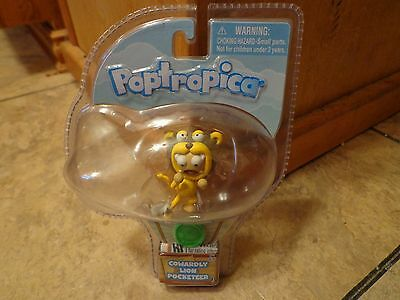 2012 Jazwares  Poptropica  2  Cowardly Lion Pocketeer Figure  New