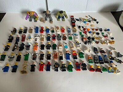 B2 LEGO mini-figure Lot Parts Ninjago Marvel Star Wars And Others 60+ Figures
