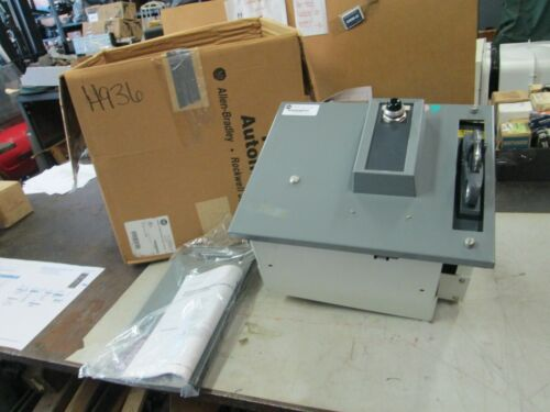 Allen Bradley Motor Control Center Unit W/ Fusible Disconnect Switch Feeder USED