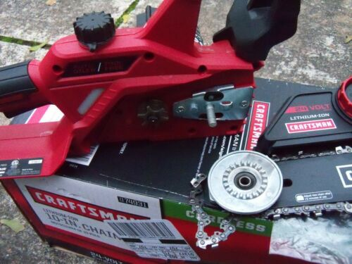 """Craftsman 74931 24V Max 10"""" Electric Cordless Chainsaw  bare tool"""