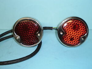 1932-1934-1935-1936-1937-1938-1940-1942-Ford-pickup-Commercial-Taillight-set