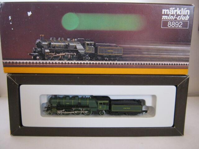 Märklin Mini Club Z 8892 Dampf Lokomotive BR 3673 KBaySts (RG/AN/98S4)