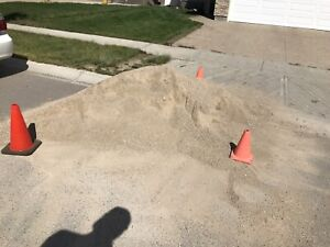 Approximately 1 yard crusher dust for free.