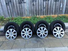 Toyota Yaris/Corolla/echo wheels tyre HUP caps 15inch set of 4 Revesby Heights Bankstown Area Preview