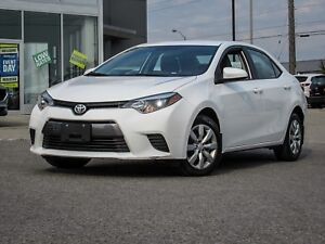 CLEAN LOW KM 2015 TOYOTA COROLLA LE AUTOMATIC