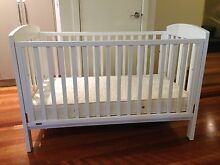 'BOORI URBANE' COT WITH MATTRESS Spotswood Hobsons Bay Area Preview