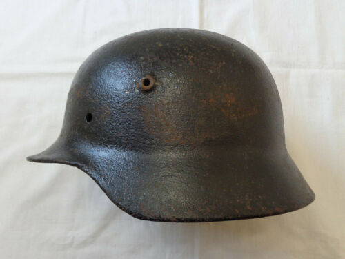 WW2 M40 Original German Helmet Shell World War II WWII USSR Combat Helmet 63 cm