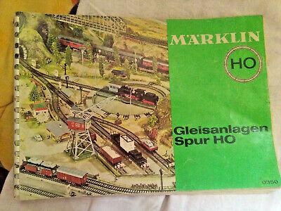 Modellbau-Eisenbahn: Märklin - Gleisanlagen Spur HO - 1965