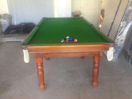 Pool Table 8 x 4 Slate