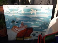 painting - large - on stretched canvas Mosman Mosman Area Preview