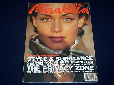1992 Sept Mirabella Magazine   Amber Valletta   Fashion Super Models   O 86