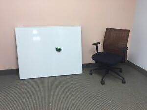 "38"" X 48"" Porcelain Magnetic Whiteboard - New Condition"