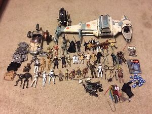 Huge Star Wars collection of figures and collectibles